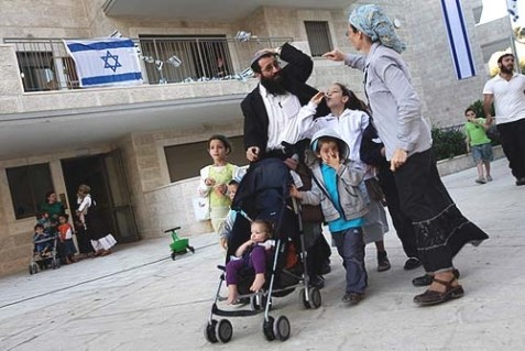 Jewish residents of Maale HaZeitim in East Jerusalem.