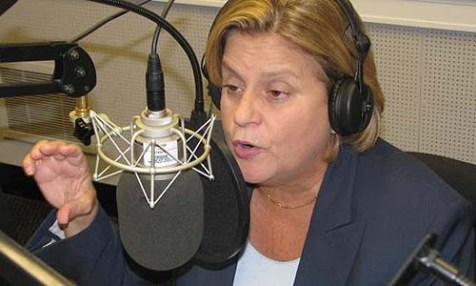 H. Res. 568, introduced by Rep. Ileana Ros-Lehtinen (R-Fla., seen here on her weekly radio show), chairwoman of the Foreign Affairs Committee, had 314 sponsors.