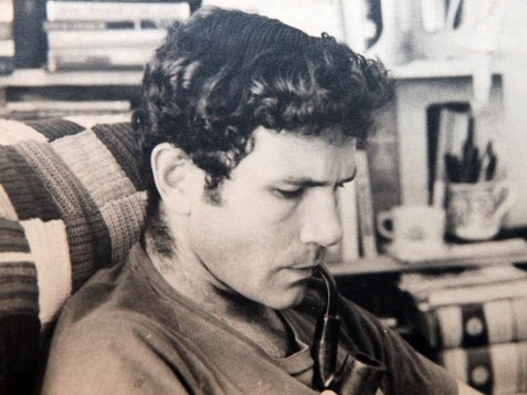 Reproduction photograph of the late IDF Lt. Col.Yonatan Netanyahu.