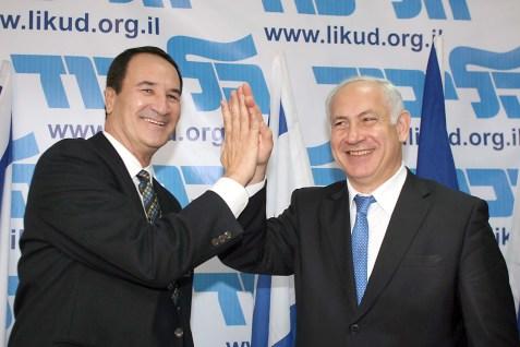 Tal Brody with PM Benjamin Netanyahu