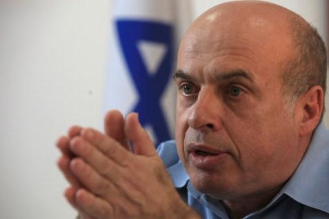 Jewish Agency head Natan Sharansky.