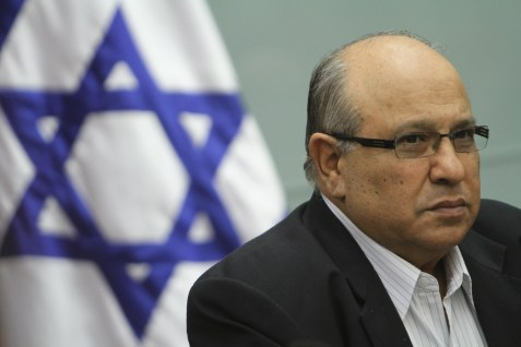 Meir Dagan, former head of the Mossad.