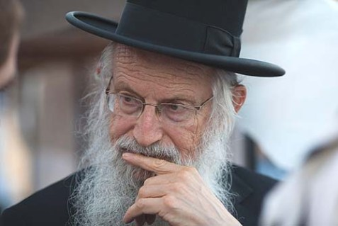 Rabbi Zalman Melamed, dean of the Beit El yeshiva, decided against a clash with Israel's government over the demolition of Ulpana Hill.