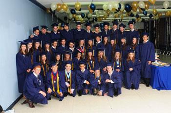 RASG Hebrew Academy's 2012 graduating class