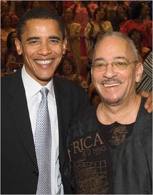 President Obama and Rev. Jeremaih Wright
