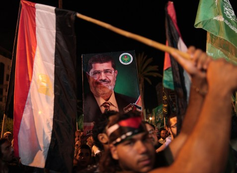 Supporters of Mohammad Morsi