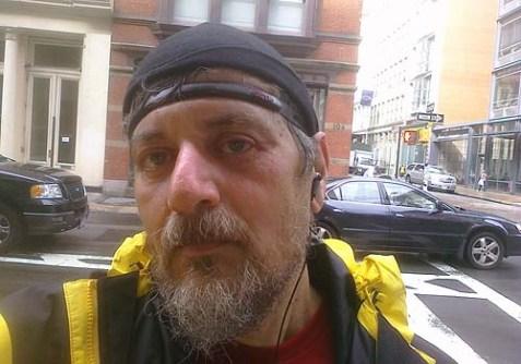 Yori Yanover in Manhattan, April, 2011.