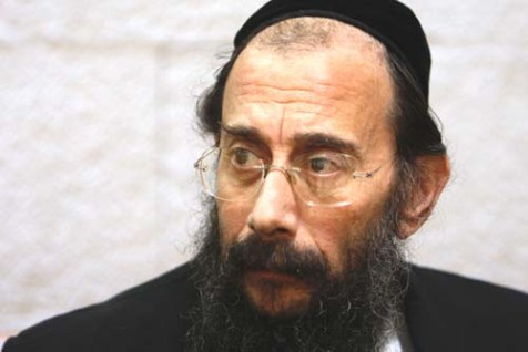 Avrohom Mondrowitz during his appearance before the Supreme Court in Jerusalem, January 14, 2010.