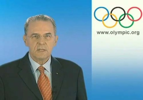 International Olympic Committee President Jacques Rogge.