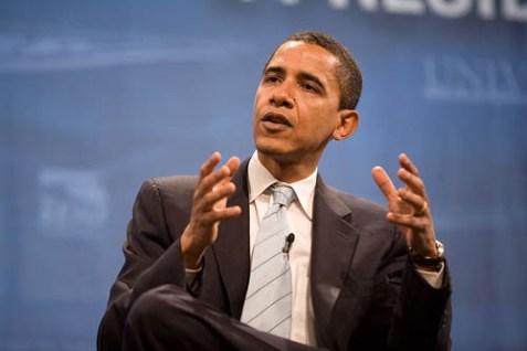 Obama at the Presidential Health Forum in Las Vegas, 2007