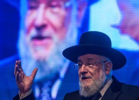 .Rabbi Yisrael Meir Lau