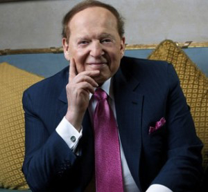 US casino king, Sheldon Adelson, new owner of the national religious Major Rishon newspaper.
