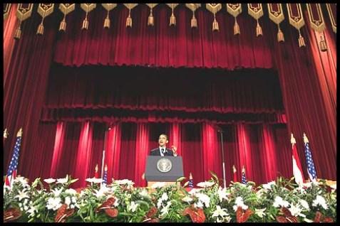 Barack Obama at Cairo University