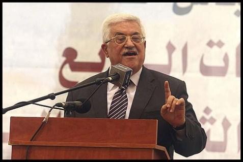 Palestinian Authority President Mahmud Abbas