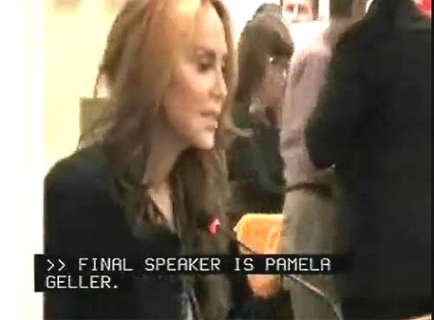 Pamela Geller speaking at the 9/27 MTA Meeting