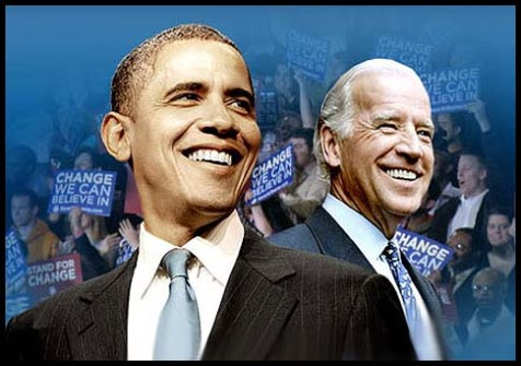 President Barack Obama and Vice President Joe Biden.