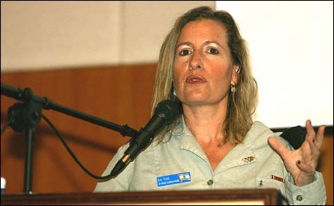 IDF Spokesperson Lt. Col. Avital Leibovich