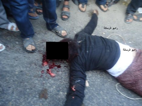 """How dare you call Hamas a terrorist group!"" (Archive 2012) An alleged collaborator murdered by Hamas."