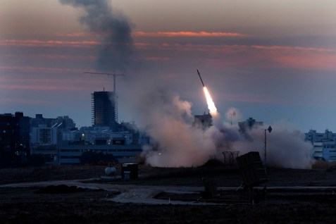 Iron Dome protecting Israel