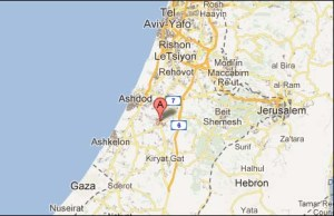 Kiryat Malachi is about 20 miles from the Gaza border.