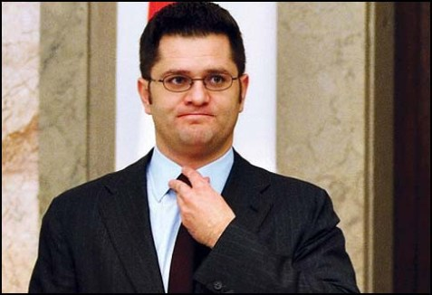 Vuk Jeremic will have the dubious honor of introducing the Palestinian vote today.