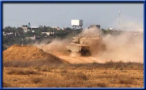 tank-near-Gaza-2