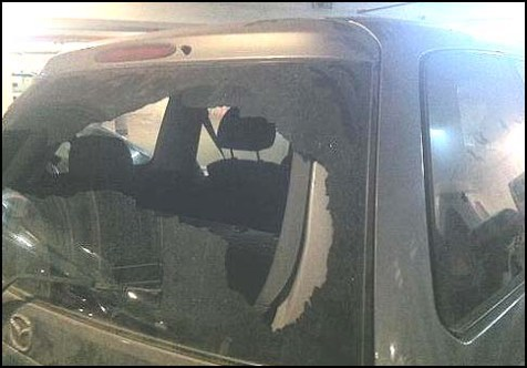 Jeusalem car attacked