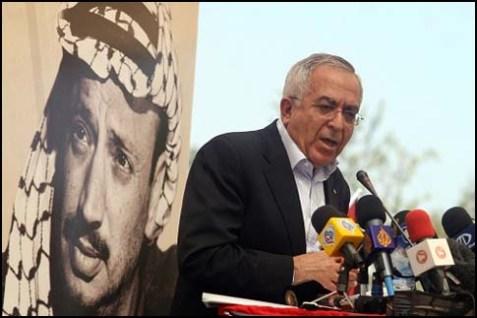 Former Palestinian PM Salam Fayyad