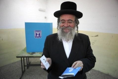Chareidi Voters