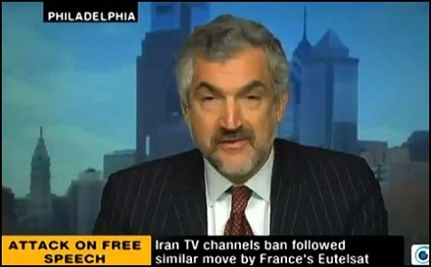 Daniel Pipes on Iranian Press TV.
