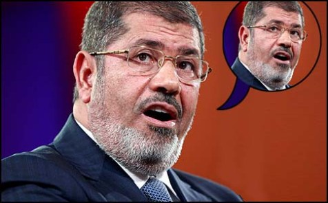 Morsi says Morsi