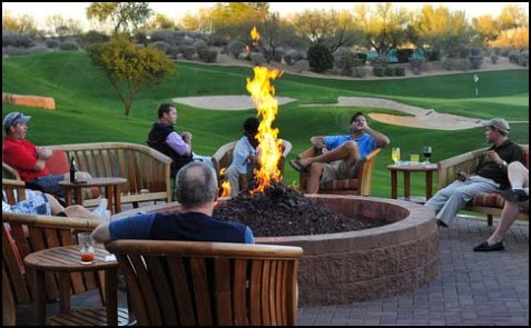 Outdoor Lounge at a Resort & Spa hotel in Phoenix