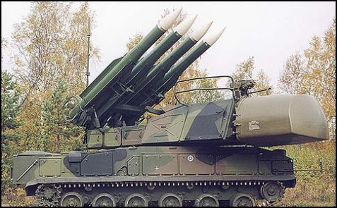 Israel hit a shipment of Russian made SA-17 missiles.