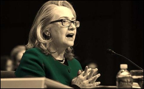 U.S.Secretary of State Hillary Clinton testifies on the September attack on U.S. diplomatic sites in Benghazi, Libya, January 23, 2013.