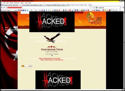 Safari Website Hacked
