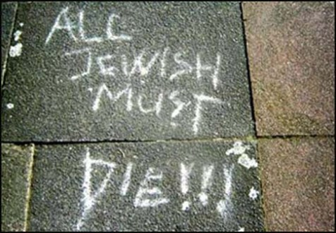 Anti-Semites have a message for Jews in the Diaspora, but some people just don't understand it.