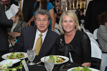 Dinner honorees Jeff and Honey Rubenstein