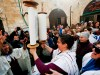 The Women of the Wall will pray at the southern end of the Western Wall Friday but without their Torah scroll, which has been damaged by dampness.