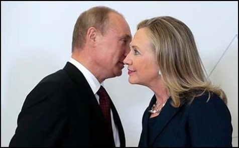 Secretary Clinton and Vladimir Putin discussed their differences on Syria in September, 2012.