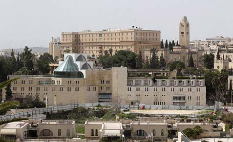King David hotel, Jerusalem