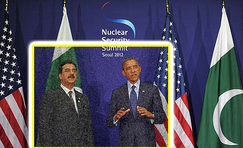 President Barack Obama and Pakistani Prime Minister Yousuf Raza Gilani.