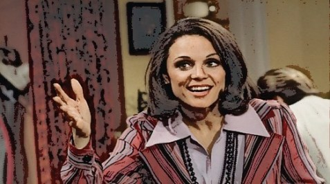Valerie Harper as Rhoda Morgenstern in the &quot;Mary Tyler Moore Show&quot;