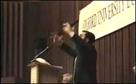 Rabbi Shmuley Boteach debating Richard Dawkins at Oxford, 1996
