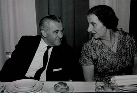 Dewey Stone and Golda Meir