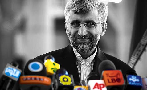 Iran's chief nuclear negotiator Saeed Jalili