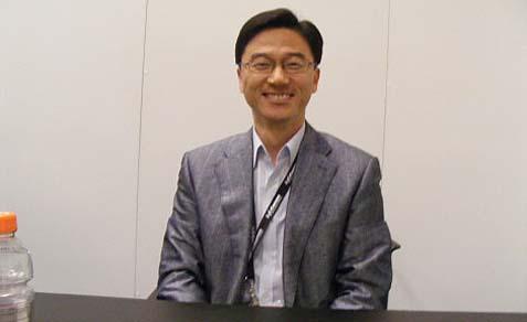 Samsung Korea Vice President Charlie Park.