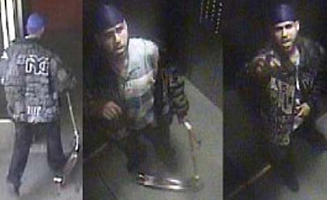 NYPD released surveillance footage of the suspect.