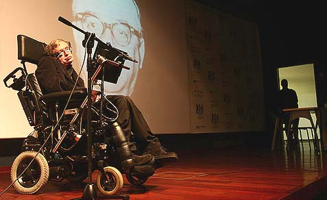 Prof. Stephen Hawking last appeared in Israel in 2006.
