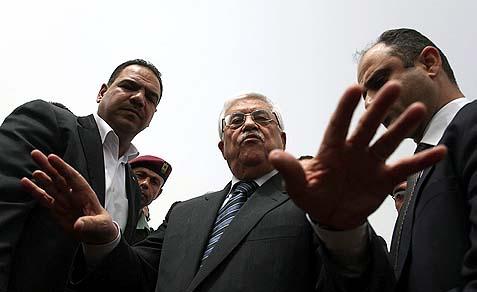 PA President Mahmoud Abbas (Abu Mazen).