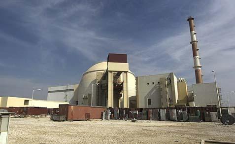 Iran's Bushehr nuclear facility.
